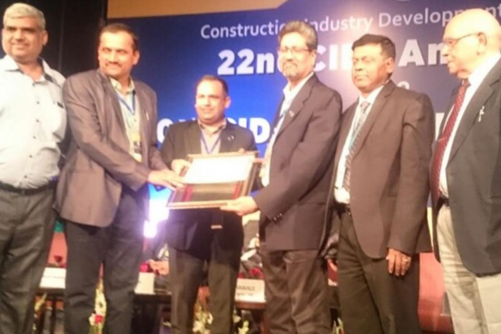 10th CIDC Vishwakarma Award - Construction Health Safety Environment Daman Development Project Hazira