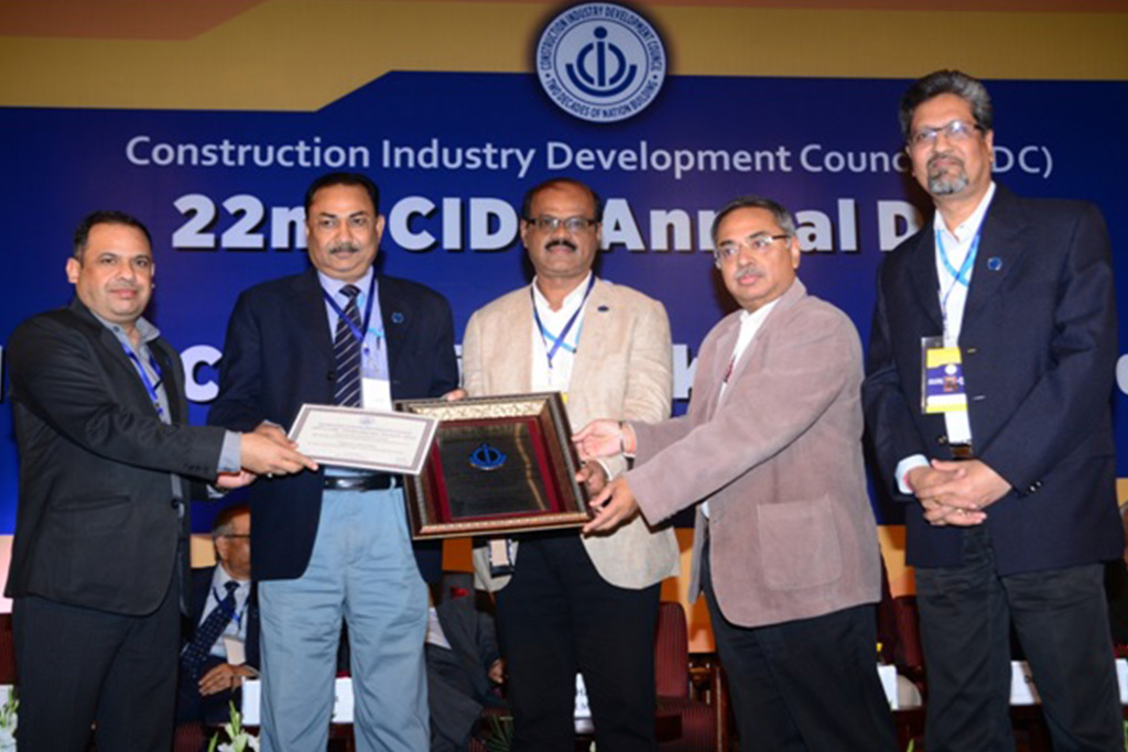 10th CIDC Vishwakarma Award-Best Construction Projects DHT Project BPCL-Mumbai, Refinery