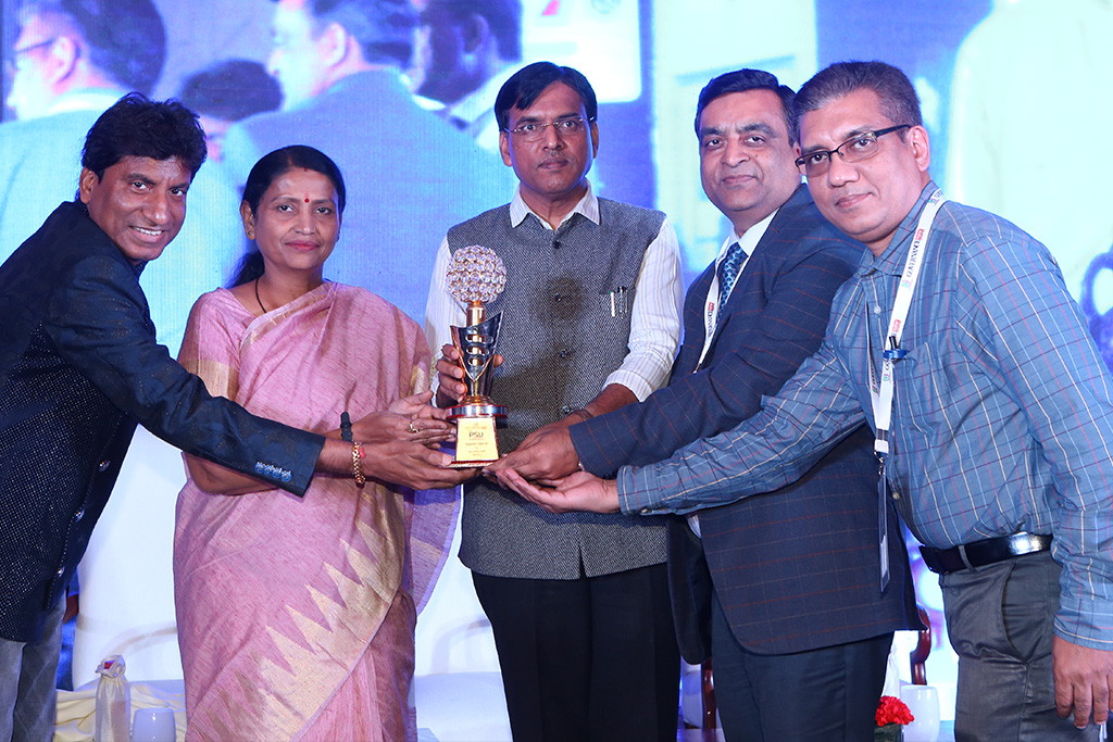 "5th Governance Now PSU Award for ""Consistent Growth"" in Navratna Category"