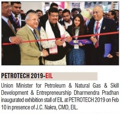 EIL participates in PETROTECH 2019 – Hindustan Times