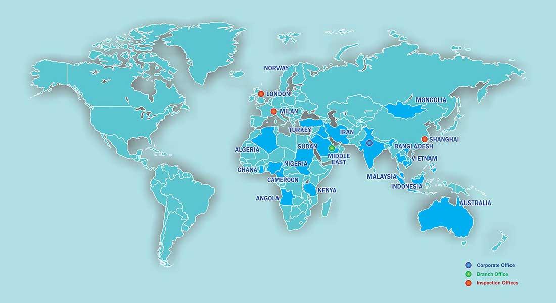 EIL Global Presence